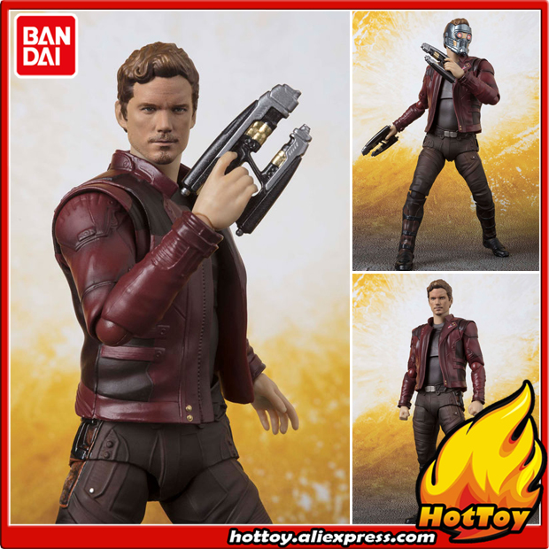купить 100% Original BANDAI Tamashii Nations S.H.Figuarts (SHF) Action Figure - Star-Lord from
