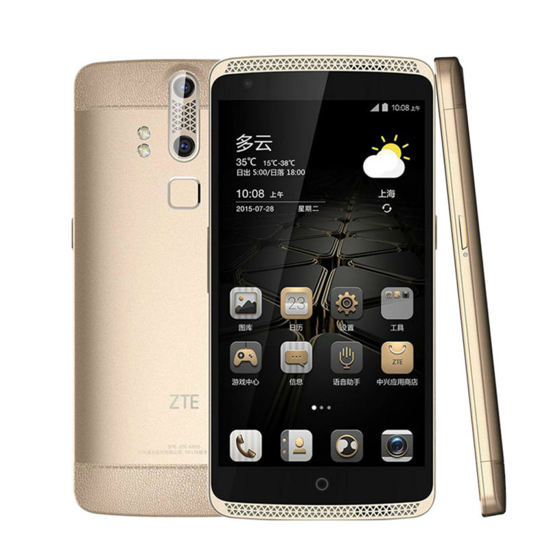 ZTE Axon A2015 Mobile Phone Snapdragon Android 3GB 32GB 4G FDD LTE 5 5 FHD 3000