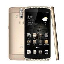 """ZTE Axon A2015 Mobile Téléphone Snapdragon Android 3 GB + 32 GB 4G FDD-LTE 5.5 """"FHD 3000 mAh Double Retour D'empreintes Digitales Numérique Caméras"""