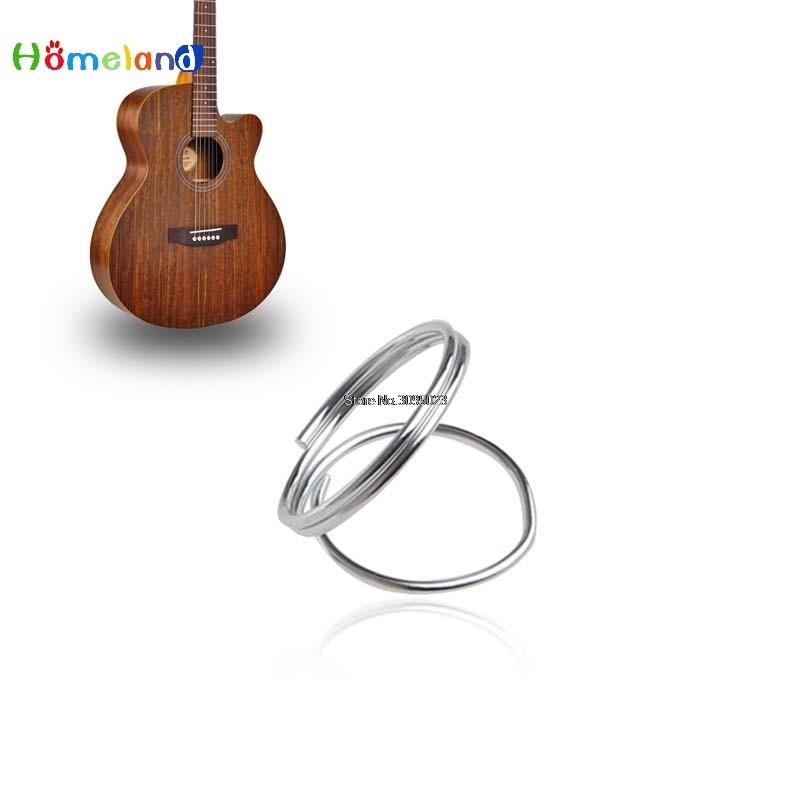 Guitar AccessoriesGuitar Bass Metal Finger Pick Protector Guard Plectrum 4 Pieces Silver Golden Jun30_25