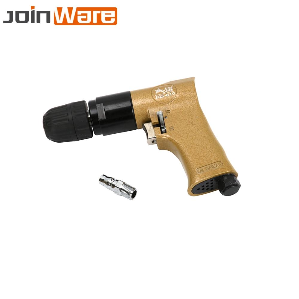 3 8 Pistol Type Self locking Pneumatic Reversible Gun Drills Air Impact Drill Power Tool For
