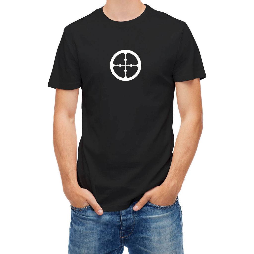 Black t shirt target - T Shirt Target Graphic Print Round Neck Man Summer Casual Man Good Quality T Shirts