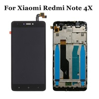 For Xiaomi Redmi Note 4X LCD Display Touch Screen Digitizer Assembly Replacement With Frame For Xiaomi