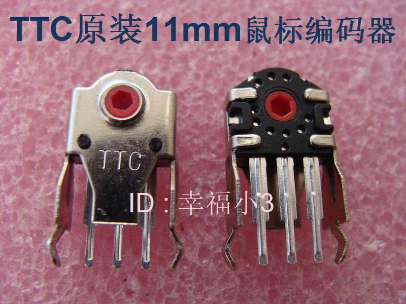 1pc original TTC codificador de ratón decodificador Universal para Rapoo A4tech altura 11mm núcleo rojo