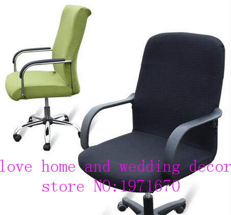 Large Size Brain Coverings Office Chair Sets Body Lifting Elastic Staff Computer Chaircover