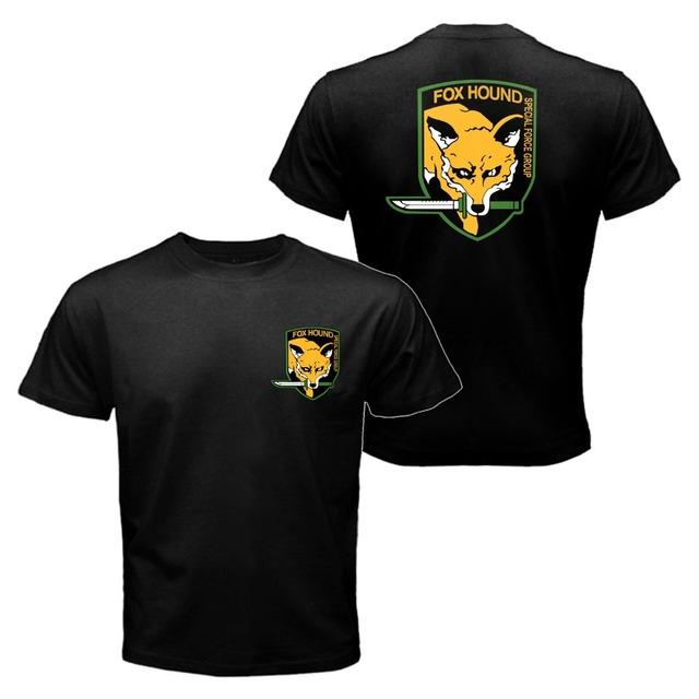 Diamond Dogs of War The Metal Gear Solid Snake 5 V Phantom Pain Big Boss Summer T-shirt For Men Women funny tee shirt homme tops