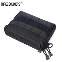 Outdoor Military Tactical Waist Bag Multifunctional EDC Molle Tool Zipper Waist Pack Accessory cosmetic bag magic Hanging Pouch outdoor military tactical waist bag multifunctional edc molle tool zipper waist pack accessory cosmetic bag magic hanging pouch