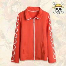 Una pieza cosplay diario abrigo chaquetas rojas Usopp chaqueta trajes para hombre y mujeres mens chaquetas de invierno y abrigos