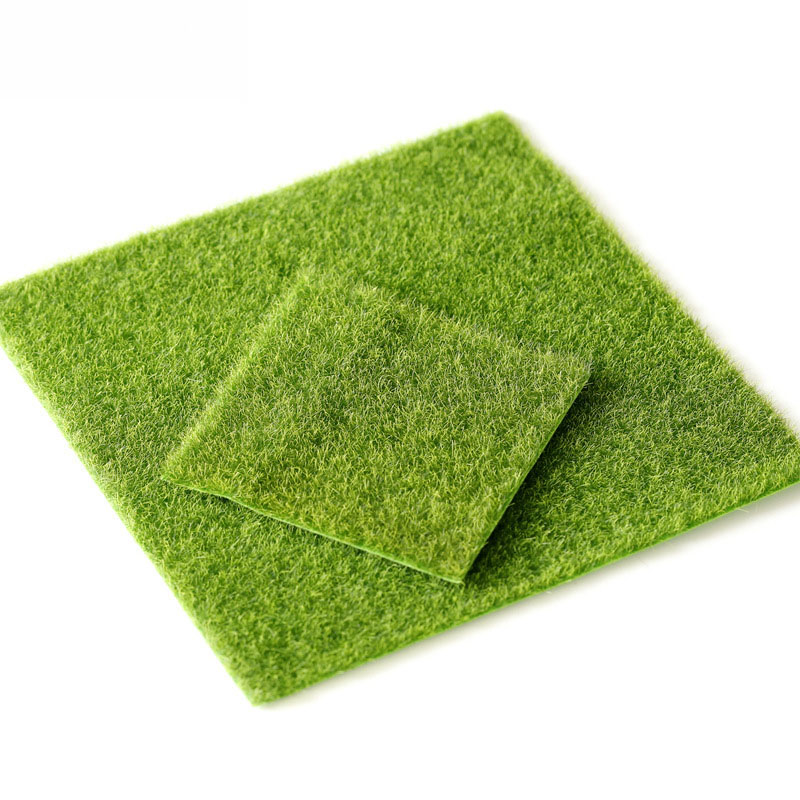 15cm Real Touch Fake Moss Artificial Lawn Micro Landscape Moss Grass Flores Artificiais Flowers Foliage For Home Wedding Decor