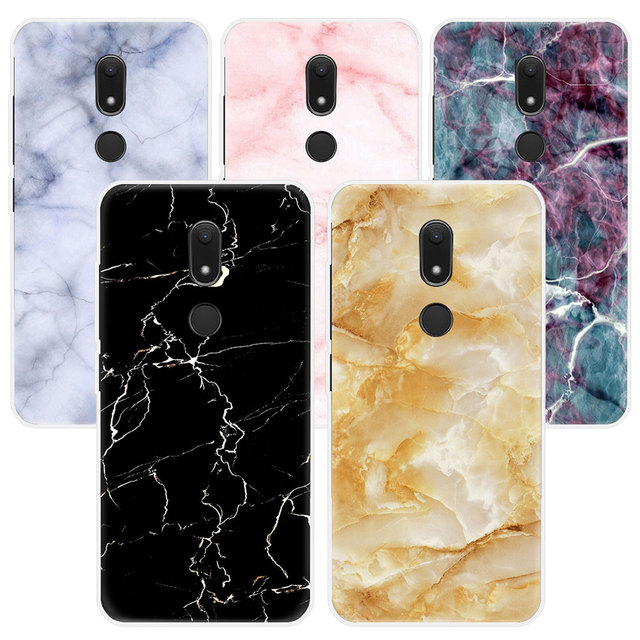 Phone Case For Wiko Lenny 4 Sunny 2 plus Jerry 2 Tommy 2 View xl prime U pulse lite Wim lite Granite Marble Texture Back Cover