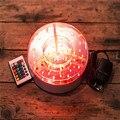 (10 peças/lote) 16 Convites De Casamento De Cor Recarregável 8 inch Base de Luz Led com Controle Remoto para Debaixo do Vaso Iluminação da tabela