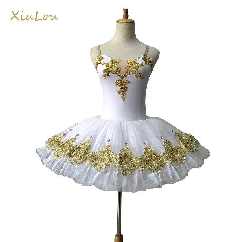 professional ballet tutu child girl women adult swan lake ballet costume White swan ballet clothes for