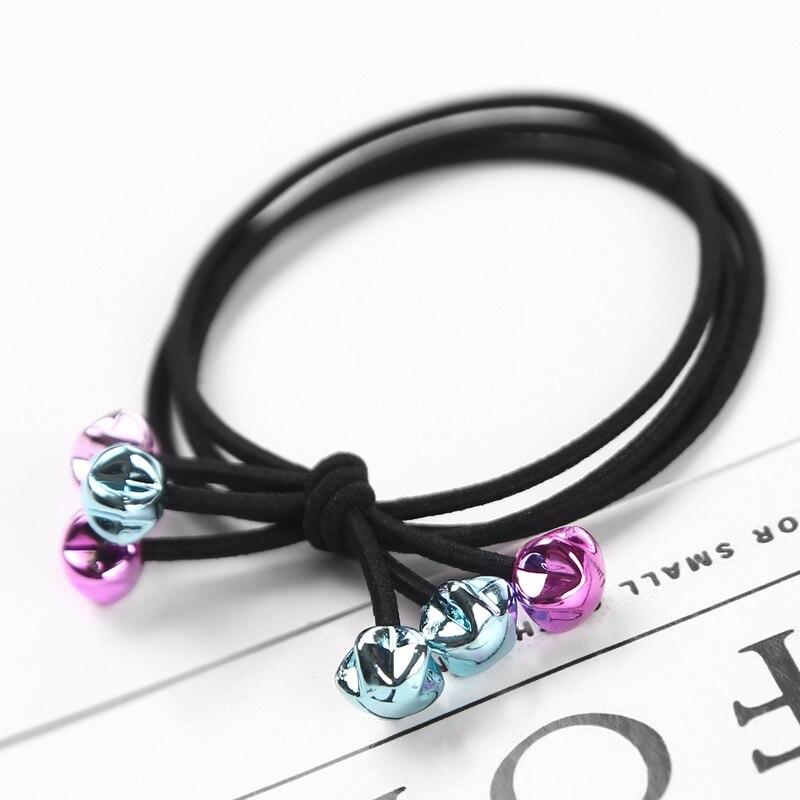 1PC New Children Cute Star Heart Elastic Hair Bands Headwear Girl Rubber Band Ponytail Holder Scrunchy Rope Hair Accessories Gum