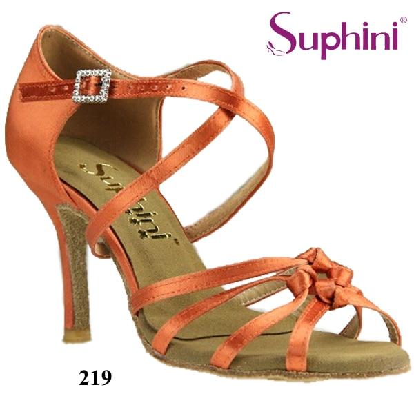 цена на Free Shipping Suphini Soft Latin Salsa Shoes Woman Comfortable Dance Shoes Latin Dance Shoes
