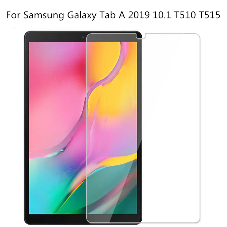 Premium 0.3mm 9H Tempered Glass Screen Protector For Samsung Galaxy Tab A 2019 10.1 T510 T515 SM-T510 SM-T515 Protective Film
