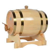XMT HOME wine barrel white oak wood bucket mini alcohol keg mini beer kegs 3L/5L/10L/20L 1pc