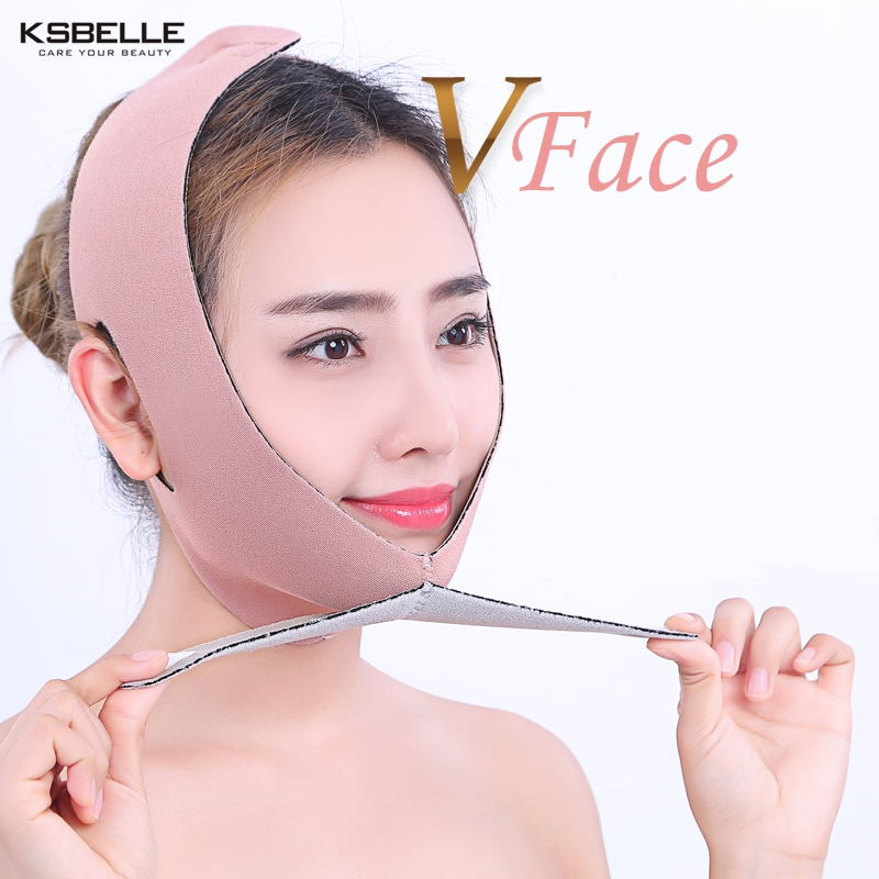 כל גודל סוג פנים להרים את חגורת דק פנים מסכת הרזיה פנים דק Masseter סנטר כפול עור פנים דק מעצב חגורת תחבושת