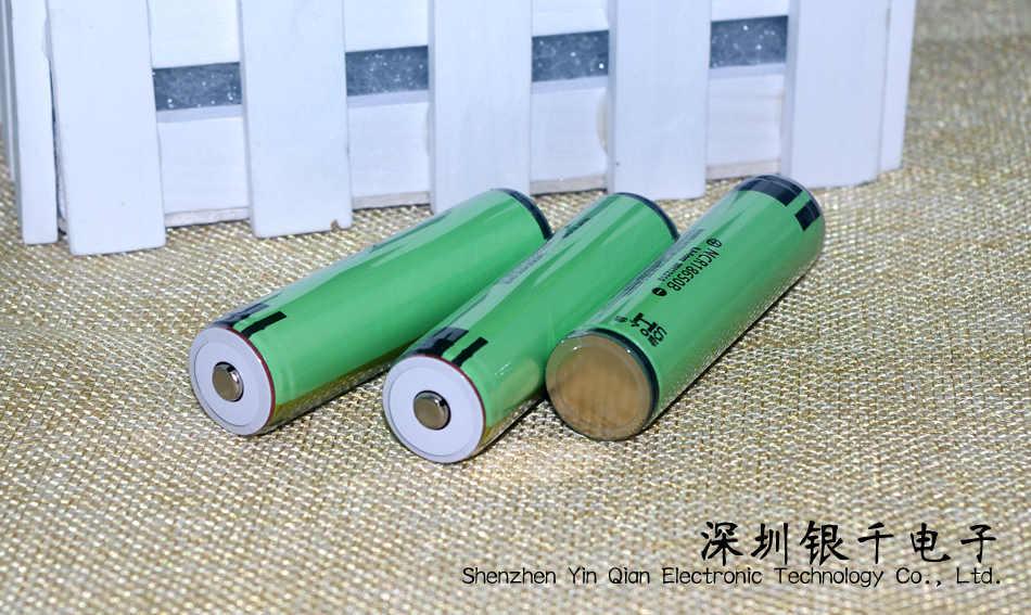 4 قطع جديد الأصلي 18650 3400 مللي أمبير بطارية 3.7 فولت بطارية ليثيوم أيون قابلة أدوات الكلور لحماية المصباح الكهربائي
