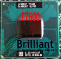 Free Shipping CPU laptop Core 2 Duo T7600 CPU 4M Socket 479 Cache/2.33GHz/667 Dual-Core Laptop processor support 945