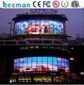 Leeman P10 / 12 limpar LED Media fachada econômico / parede de vidro Display LED / de vidro transparente levou P10 full color Display LED