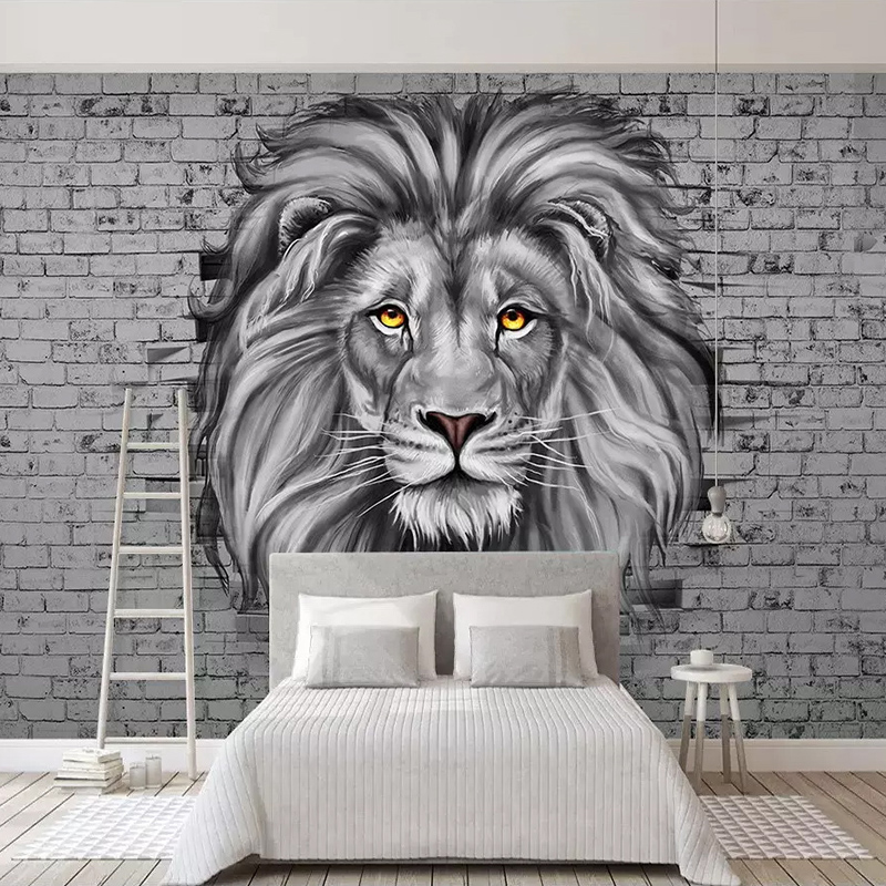 Painting Supplies & Wall Treatments Wallpapers Responsible Beibehang Custom Wallpaper Zebra Animal Decoration On Nordic Hand Drawn Prairie Painted Tv Sofa Background Wall 3d Wallpaper