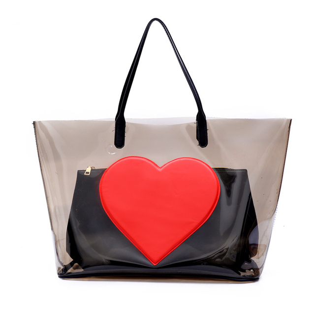 ac2b81a1dd4a girls shoulder bag elegant handbag women luxury brand designer tote bag set  woman heart China summer