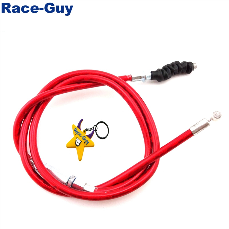 Throttle Clutch Cable Red For SSR Thumpstar TTR YCF XR50 CRF 50 70 Pit Dirt Bike