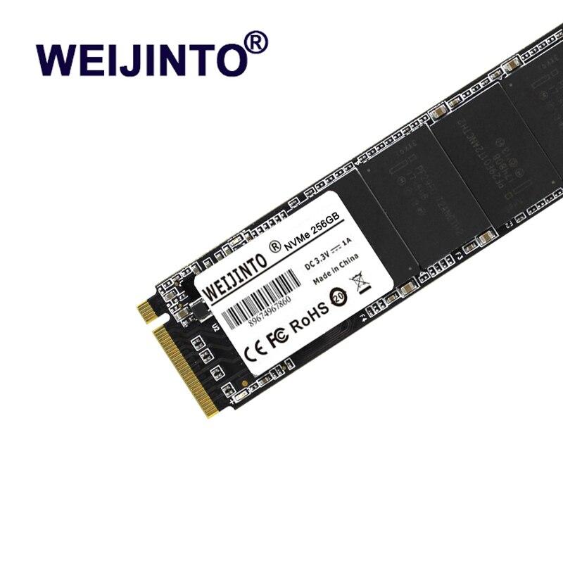 WEIJINTO M.2 SSD PCIe 480GB SSD hard Drive ssd m.2 NVMe pcie M.2 2280 SSD Internal Hard Disk for PC 2TB