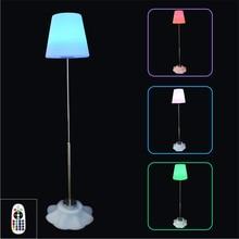 Modern LED PVC Standing Lamps Indoor Decoration Floor Lights Dimming Bedroom Restaurant Lighting