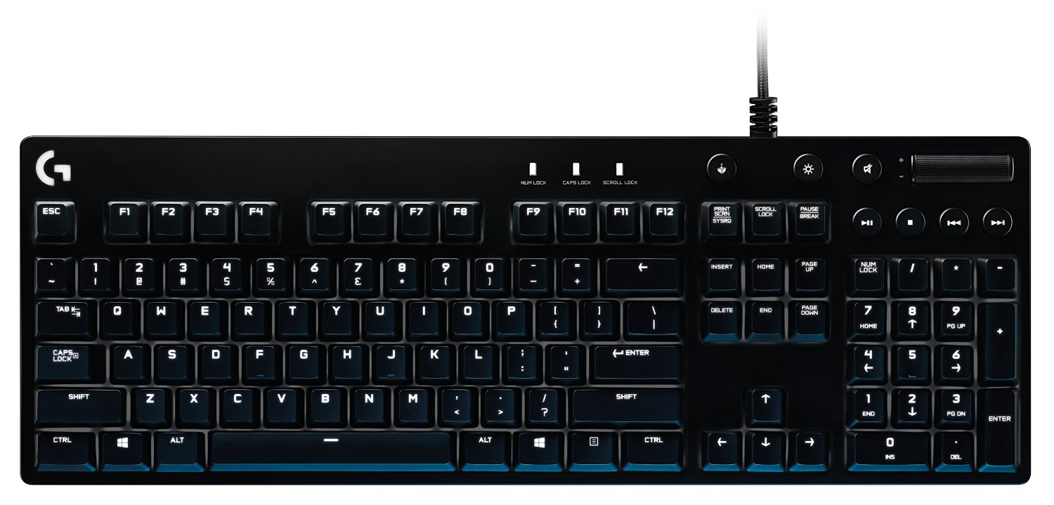все цены на Logitech G610 Orion Brown Backlit Mechanical Gaming Keyboard (920-007857) онлайн