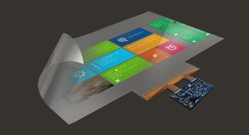Écran tactile interactif NANO de film de feuille de fil conducteur de 32 pouces