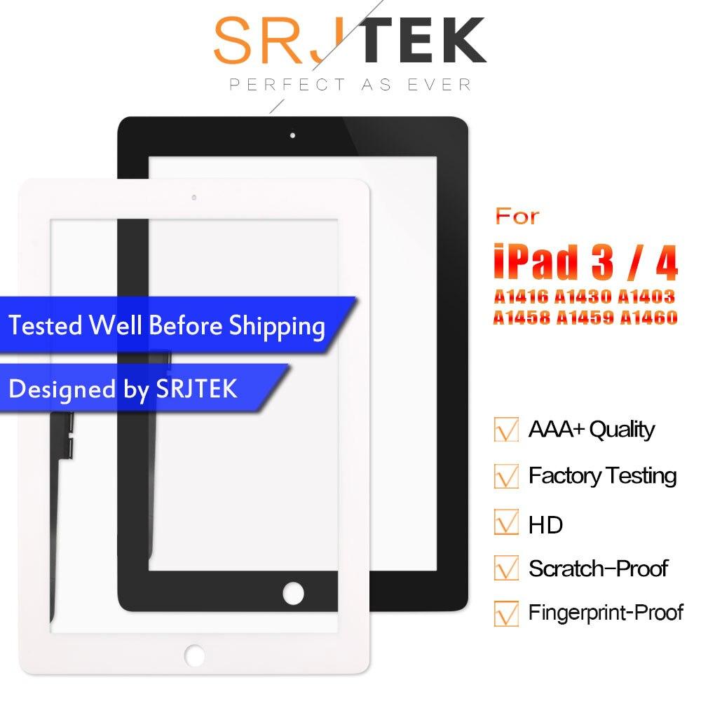 Per iPad 3 di Tocco iPad 4 Touchscreen Per iPad3 iPad4 A1416 A1430 A1403 A1458 A1459 A1460 Touch Sceen Digiziter Vetro pannello del SensorePer iPad 3 di Tocco iPad 4 Touchscreen Per iPad3 iPad4 A1416 A1430 A1403 A1458 A1459 A1460 Touch Sceen Digiziter Vetro pannello del Sensore