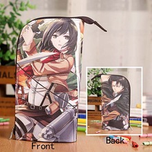 Attack On Titan  Waterproof PU Stationery Pouch