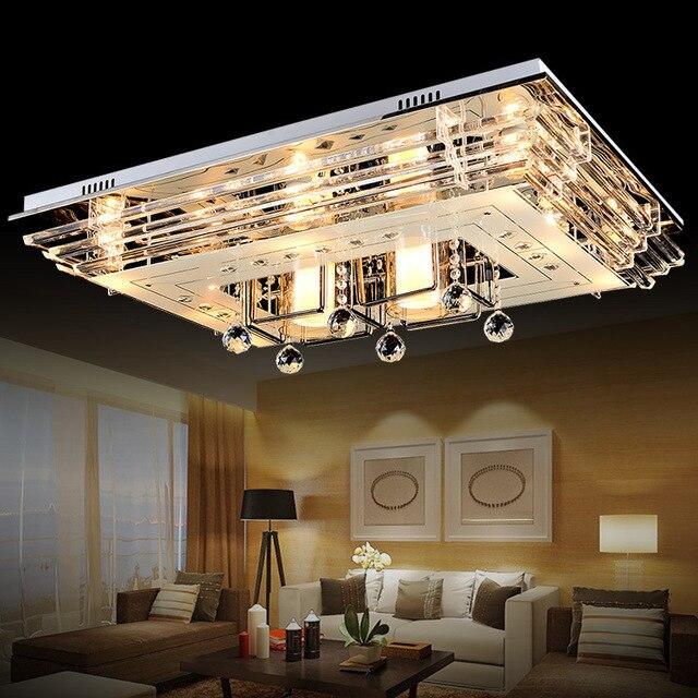 plafonnier led moderne plafond lamp led lights Modern Luxury Crystal Ceiling Light Living Room Home Lighting.jpg 640x640 5 Beau Plafonnier Led Moderne Lok9