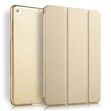 Cover Case для Xiaomi Mi Pad 2 7.9 дюймовый Твердого ПУ Leahter три-сложенном Стенд Ультра Тонкий Защитный Case для Mi Pad 2 Capa Пункты