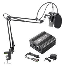 Neewer NW-700 Condenser Microphone Kit NW-35 Boom Scissor Arm Stand with Shock Mount Pop Filter XLR Cable for Home Studio Record(China)