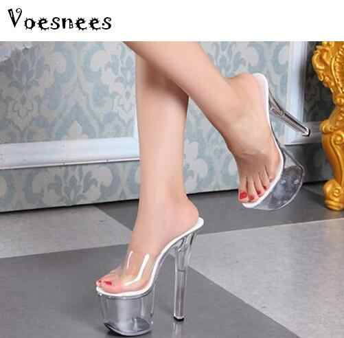 82baf77bc46 Detail Feedback Questions about sandals summer 2018 crystal slipper ...