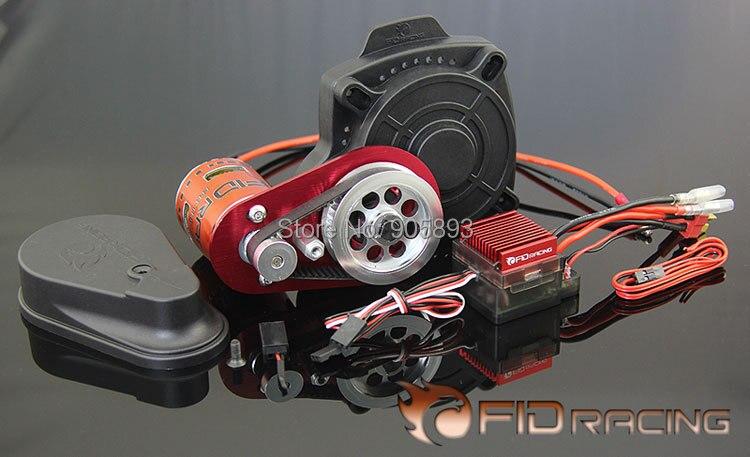 Démarreur électrique à télécommande FID avec nouveau moteur pour Losi 5ive, compatible baja 5b, 5 t, ss