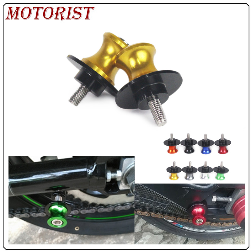 M10 Motorcycle parts 10mm Swingarm Spools slider stand screws for <font><b>Yamaha</b></font> <font><b>FZR</b></font> <font><b>1000</b></font> <font><b>FZR</b></font> 400 600r image