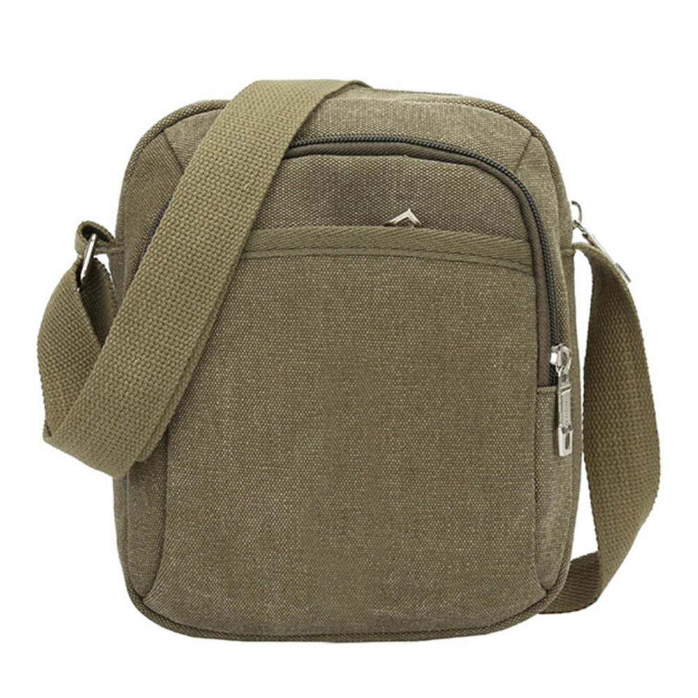 2018 Business Canvas Bag Vintage Men Casual Travel Messenger Bag Multifunction Canvas Retro Shoulder Crossbody Bag Male Handbag