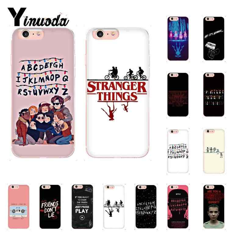 Yinuoda should stay should Stranger Things TPU Phone Case Cover Shell for iPhone 8 7 6 6S Plus 5 5S SE XR X XS MAX 10 11 pro max