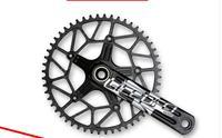 Велосипедный Спорт велосипед Litepro край полые один звезду Шатунов кривошипно 50 т 58 т с GXP BB BCD 130 170 мм