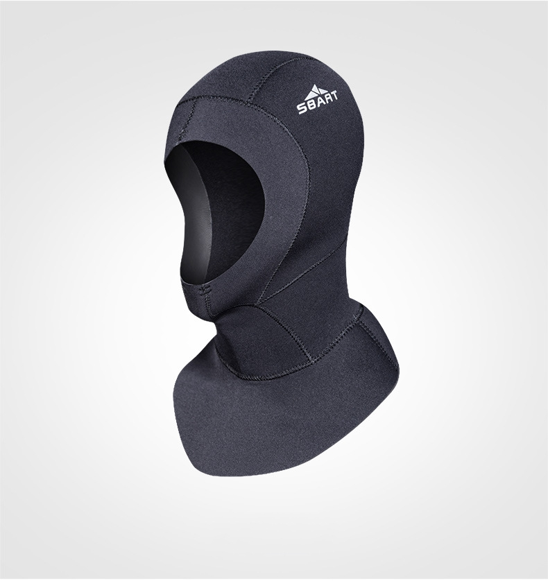 Sbart Prevent Jellyfish Waterproof Diving Swimming Cap UV Sunscreen Protect Head Keep Warm Face Mask Equipment S652