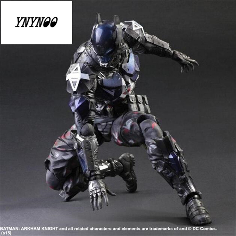 YNYNOO Batman Arkham Knight Action Figure 1/6 scale painted figure Play Arts Doll PVC ACGN figu Garage Kit Brinquedos Anime P592 neca dc comics batman arkham origins super hero 1 4 scale action figure