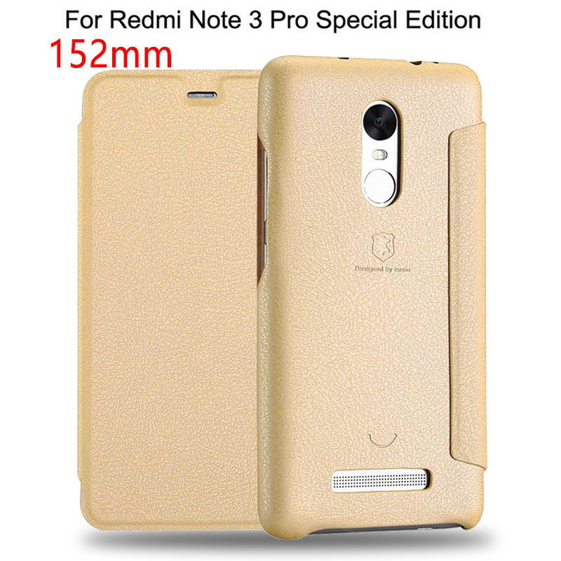 152mm Flip Leather Case For Xiaomi Redmi Note 3 Pro Prime Special Edition Phone Back Cover