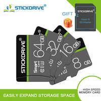 Tarjeta de memoria micro sd de alta calidad de 32 GB, 64 GB, 128 GB, 16 GB, mini tarjeta micro sd, tarjeta de memoria microsd con adaptador gratuito