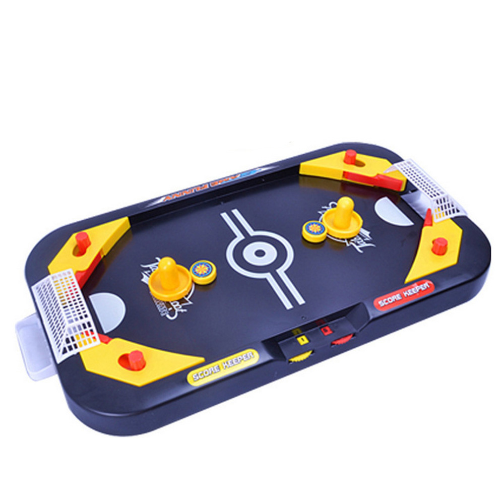 Creative Table Games Mini Hockey Table Interactive Gags&Practical Jokes Family Game Children's Educational Toy Ball Game For Kid creative led 3d nightlight hockey for kid boy gift wall decoration holiday party hockey lighting iy303166 5