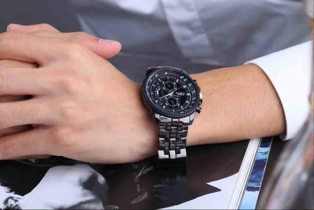 Men's Stainless Steel Luxury Dressing Watch