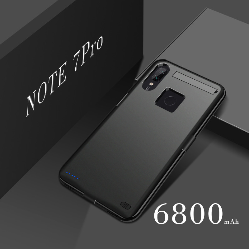 Extpower 6800mAh Explore Battery Charger Cases For Xiaomi Redmi Note 7 Power Bank Cover Battery Case  For Xiaomi Redmi Note7 Pro