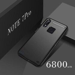 Ext power 6800 мАч, чехол для зарядного устройства для Xiaomi Redmi Note 7, внешний аккумулятор, чехол для аккумулятора для Xiaomi Redmi Note7 Pro